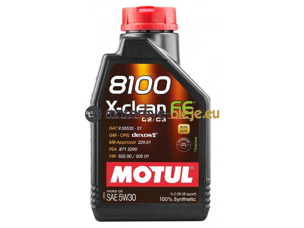 3917 1 motul 8100 x clean fe 5w30 1l