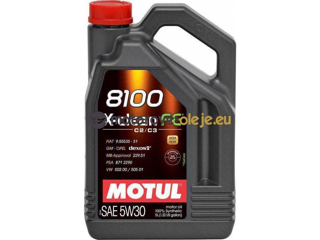3920 1 motul 8100 x clean fe 5w30 5l