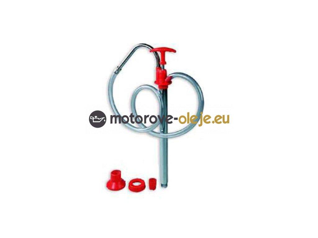 Groz ručná pumpa s PVC hadicou EZF/4