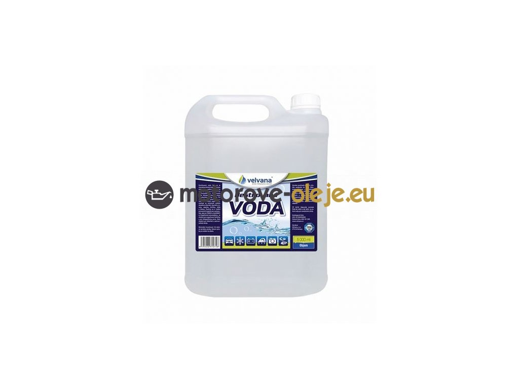 destilovana voda 5l