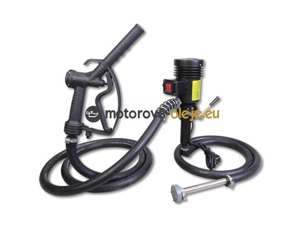 Elektrické čerpadlo na olej a naftu s výdajnou pištolou 230V