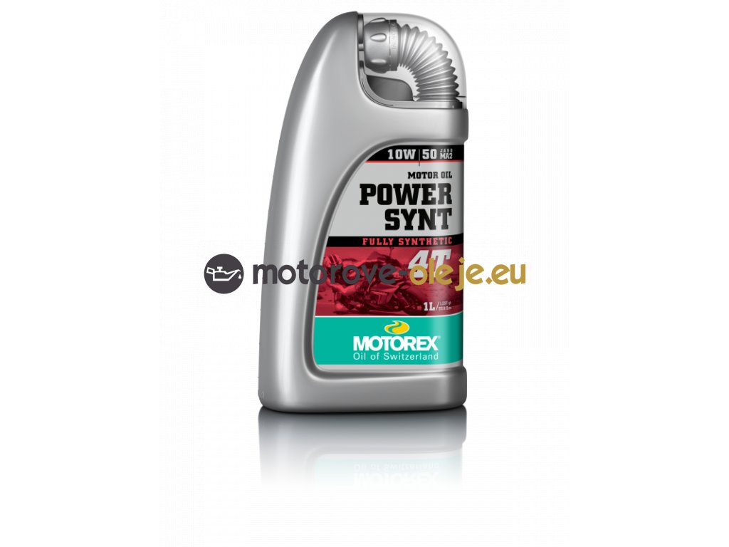 MOTOREX POWER SYNT 4T 10W50 1L