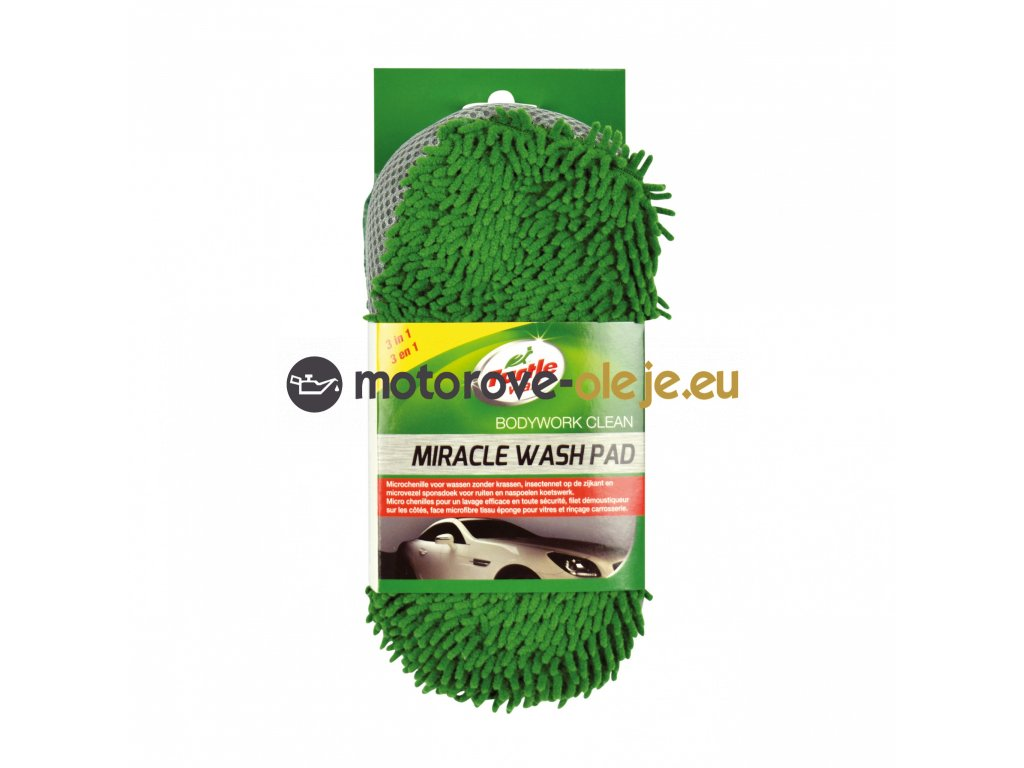 10362 Turtle Wax 3v1 Umyvacia mikrovlaknova spongia