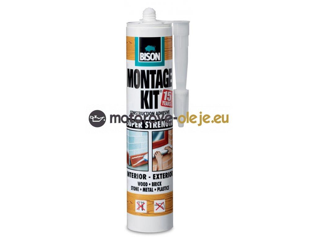 BISON Montage Kit Super Strength - montážne lepidlo 310g