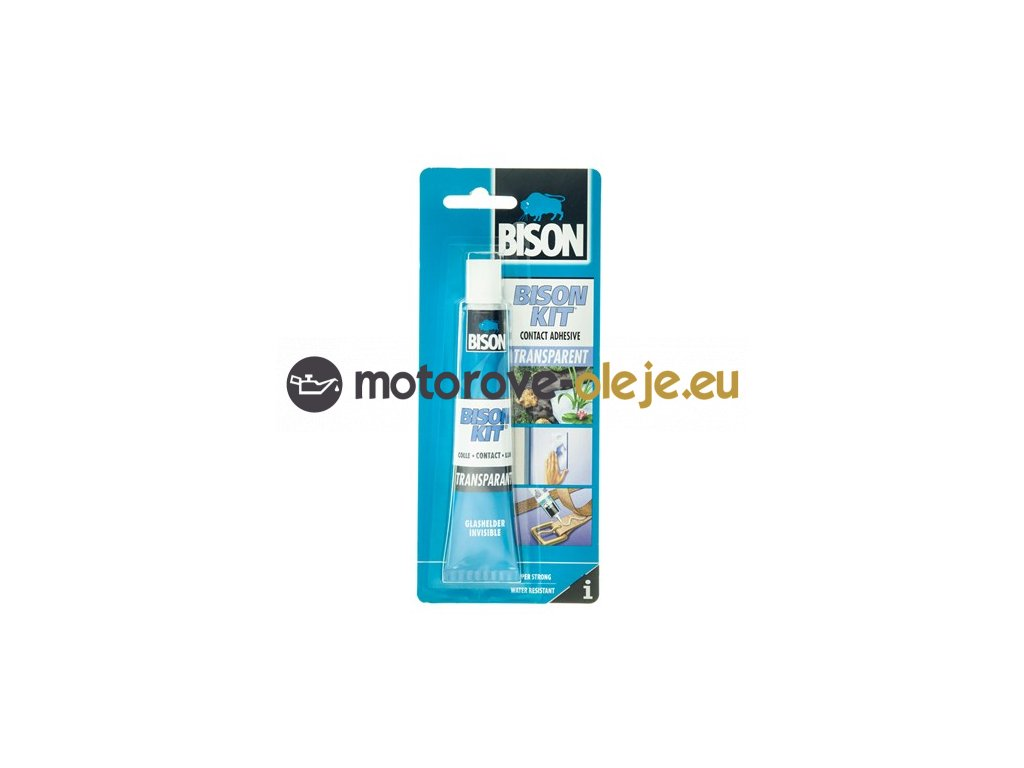 Bison Kit Transparent - kontaktné lepidlo 50ml