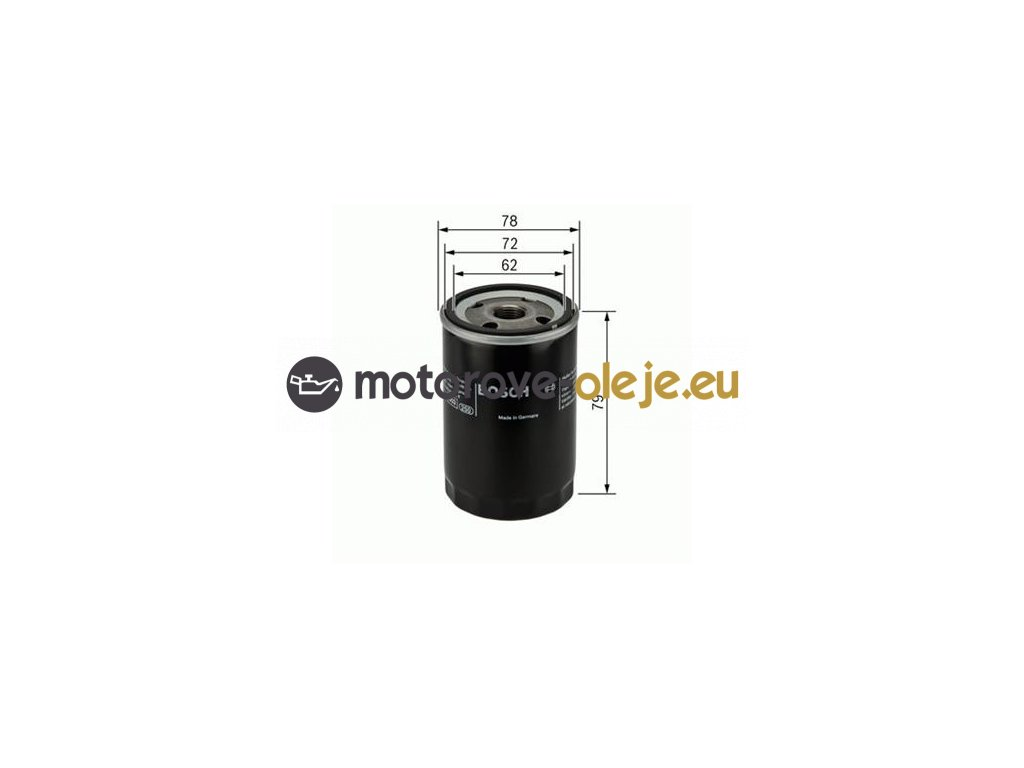 Olejový filter BOSCH 0 451 103 370
