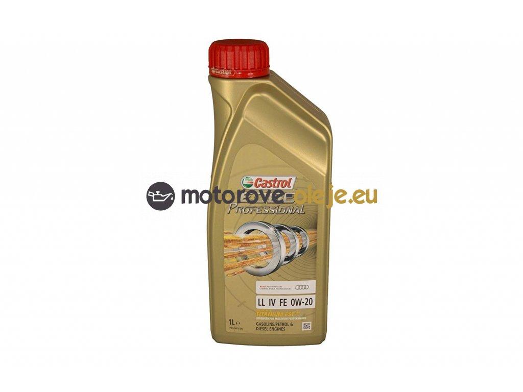 CASTROL EDGE Professional LongLife IV FE 0W 20 1L