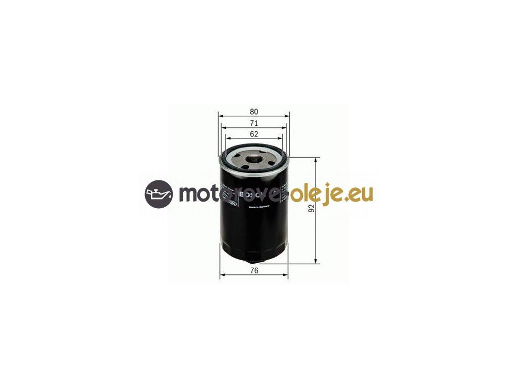 Olejový filter BOSCH 0 451 103 318