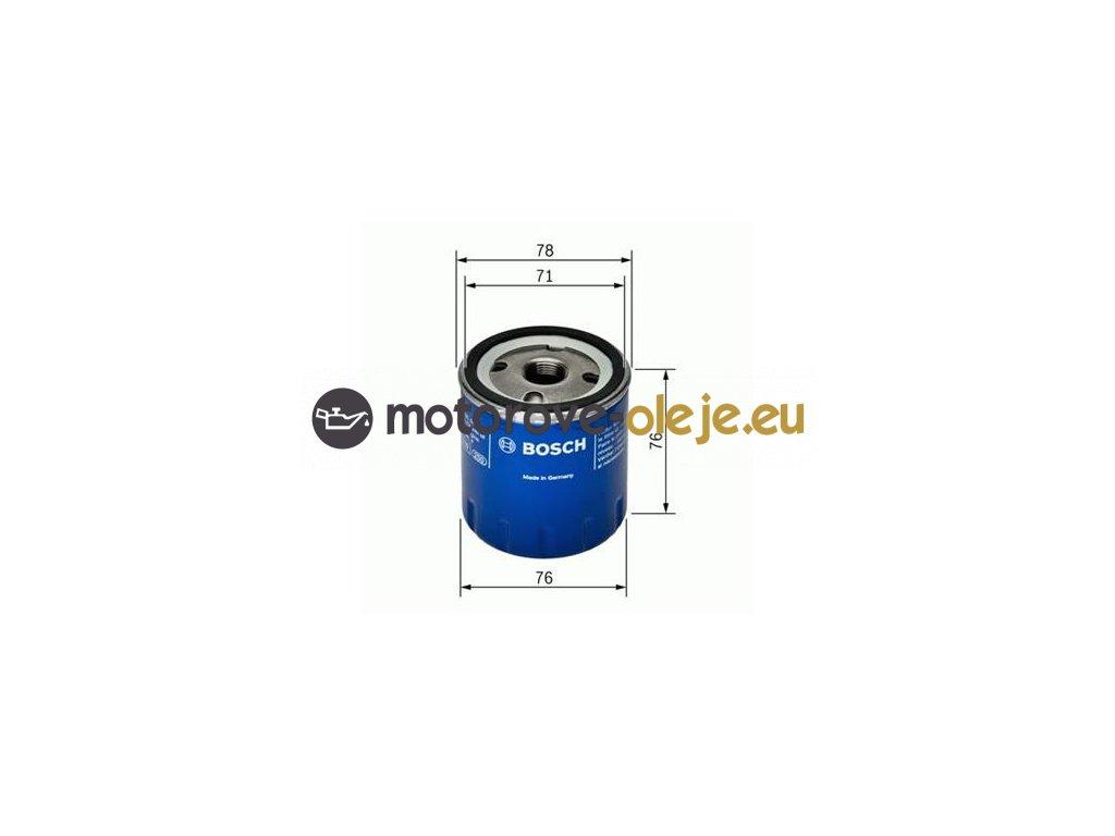 Olejový filter BOSCH F 026 407 078