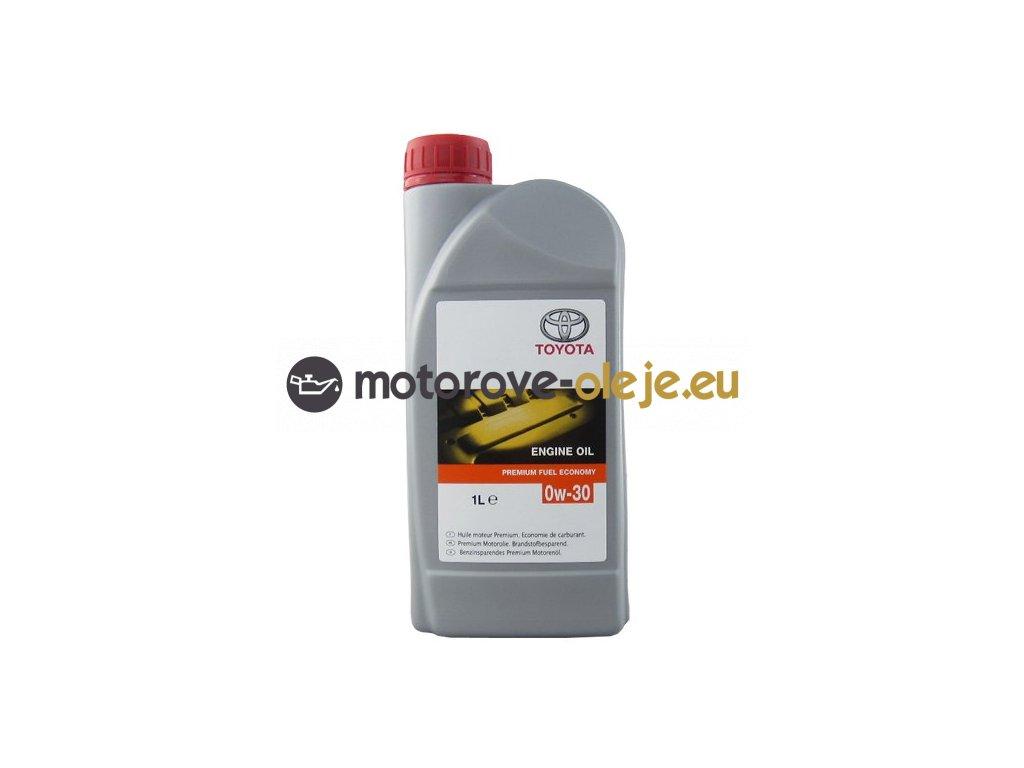 Toyota Premium Fuel Economy 0W 30 1L