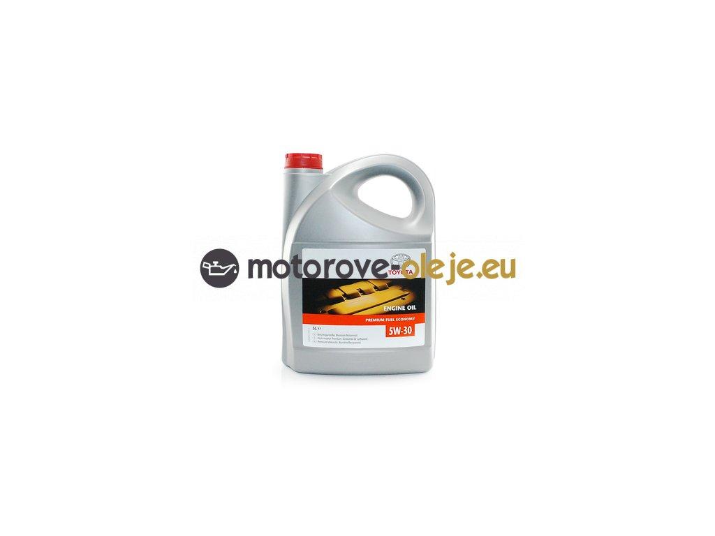 toyota original 5w30 premium fuel economy 5l
