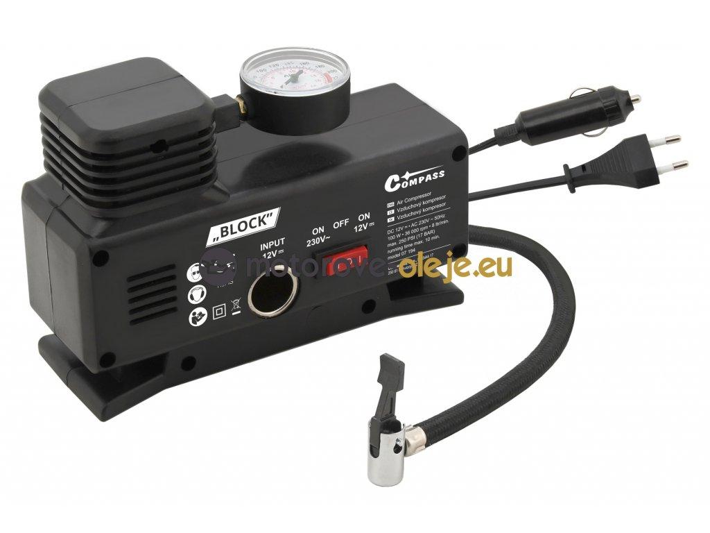 Kompresor 12/230V BLOCK