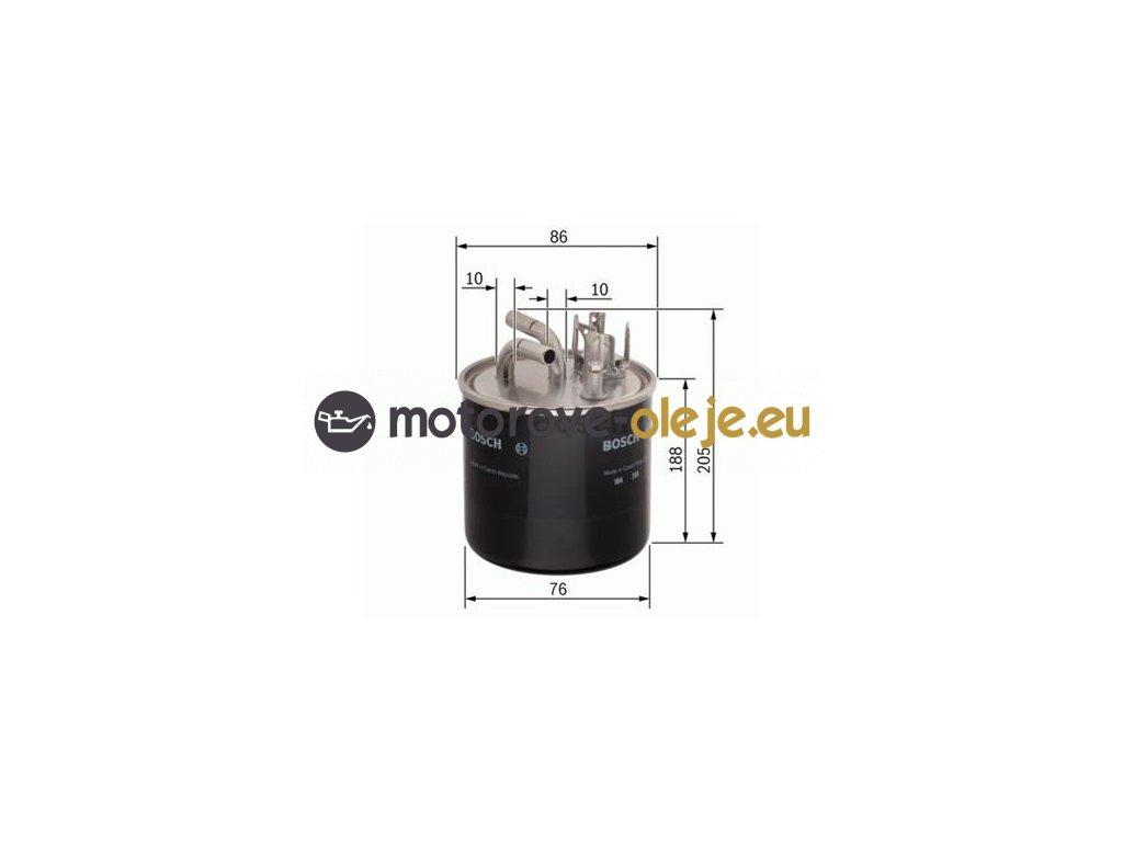 Palivový filter BOSCH 0 450 906 459