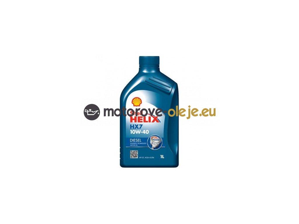 65 shell helix diesel hx7 10w 40 1 l