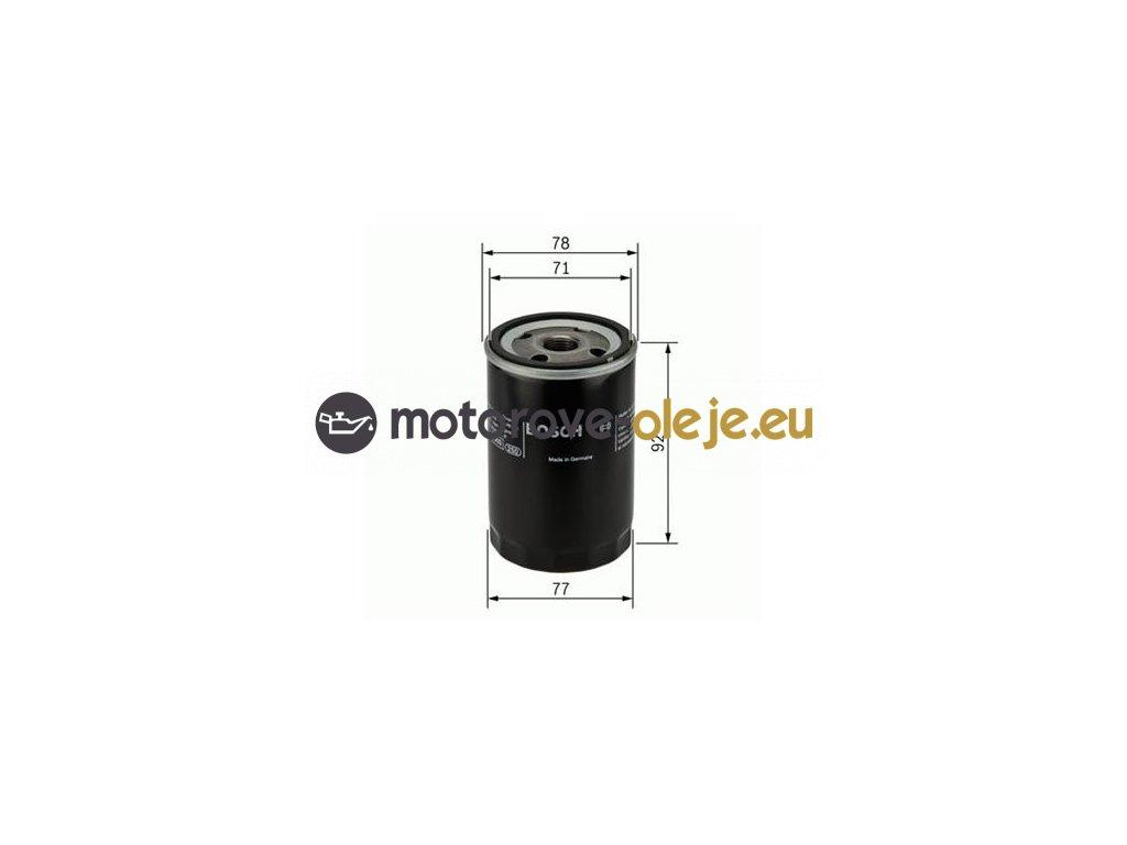 Olejový filter BOSCH F 026 407 017