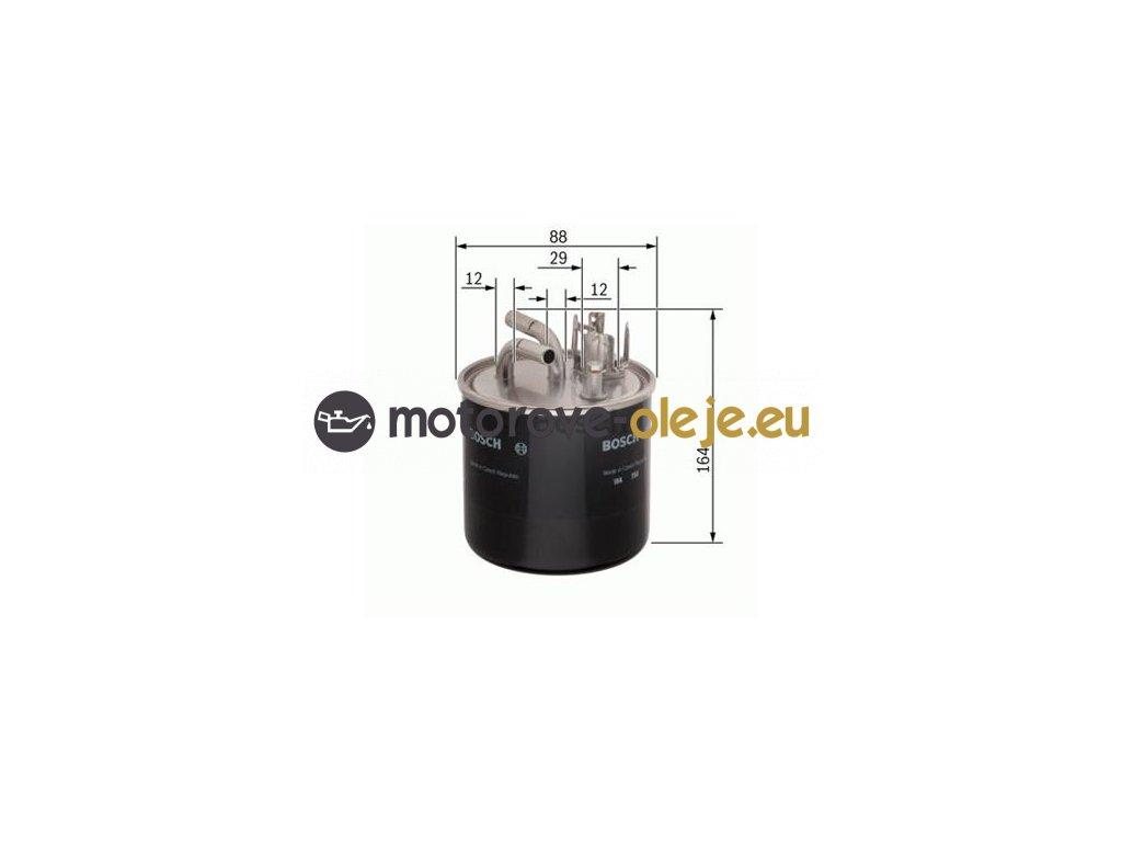 Palivový filter BOSCH 0 986 450 509