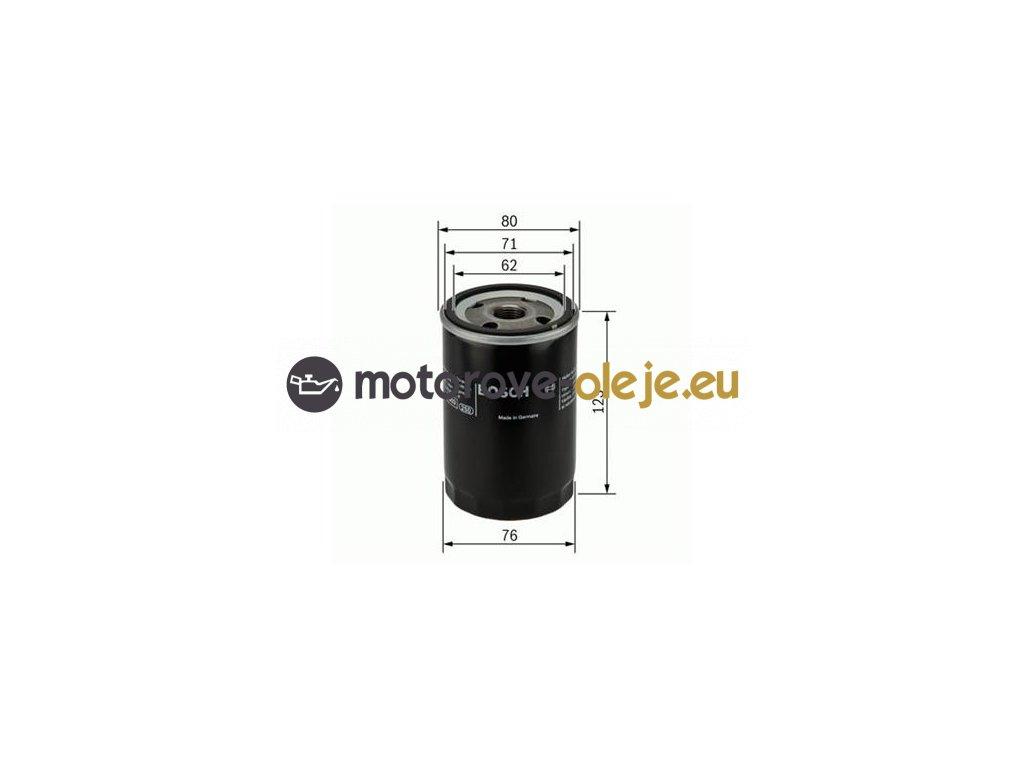 Olejový filter BOSCH 0 451 103 314