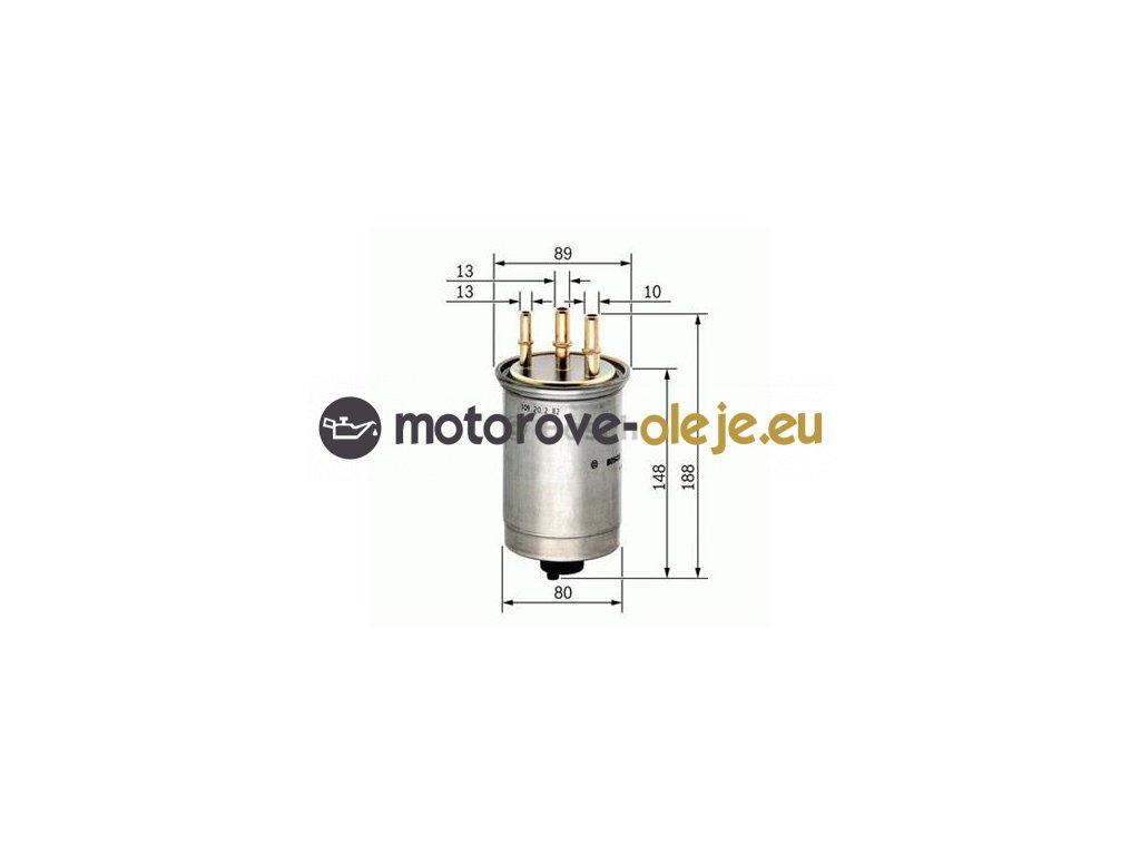 Palivový filter BOSCH 0 450 906 508