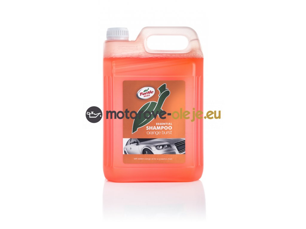 8786 turtle wax essential orange burst shampoo autosampon 5l