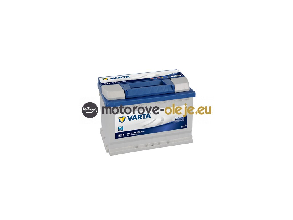 Autobatéria VARTA BLUE Dynamic 12V/74Ah P E11