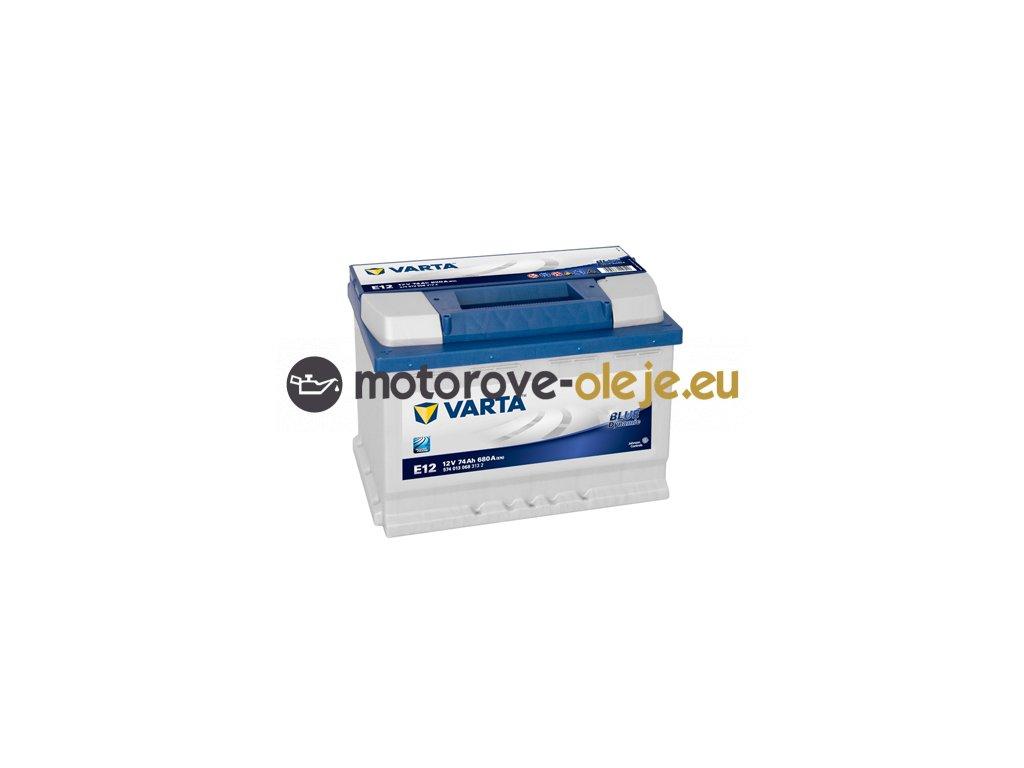 Autobatéria VARTA BLUE Dynamic 12V/74Ah L E12