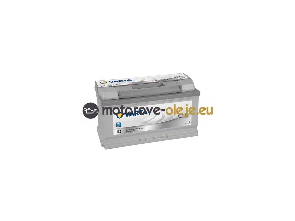 Autobatéria VARTA Silver Dynamic 12V/100Ah H3