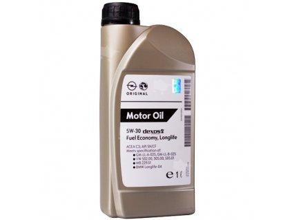 original olej GM DEXOS II 5W 30 1L