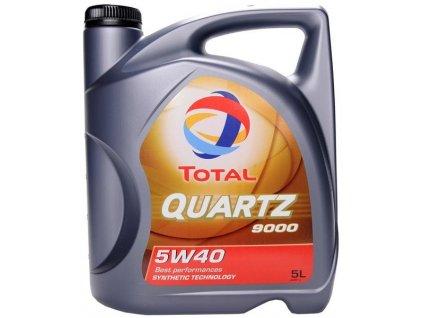 1361 total quartz 9000 5w 40 5l