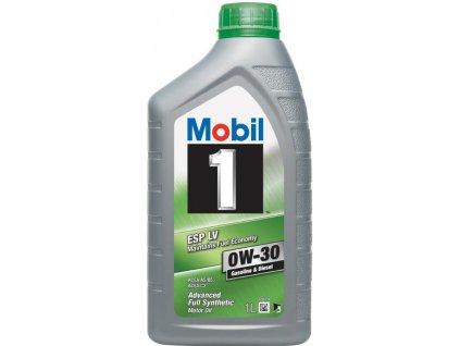 mobil esp lv fuel economy 0w30