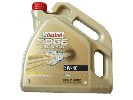 1607 castrol edge turbo diesel titanium fst 5w 40 4l