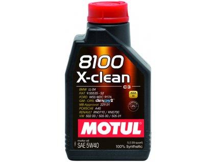 2198 1 motul 8100 x clean 5w 40 c3 1l