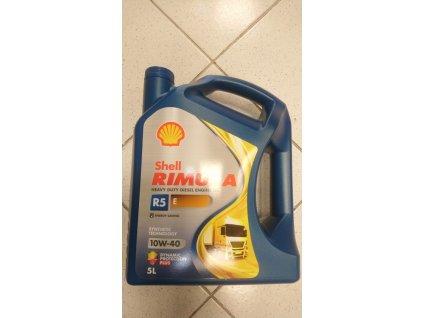 Shell rimula R5E 10w 40 5L