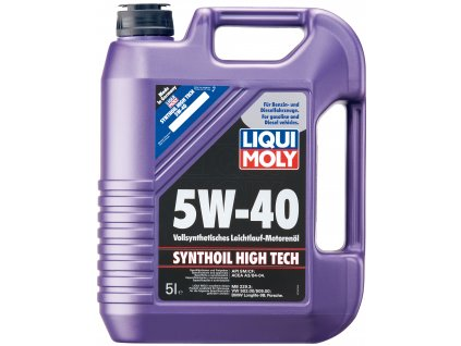 2714 liqui moly synthoil high tech 5w 40 5l