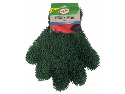 10372 TW Rukavica Gorilla 2v1 umyvacia zelena