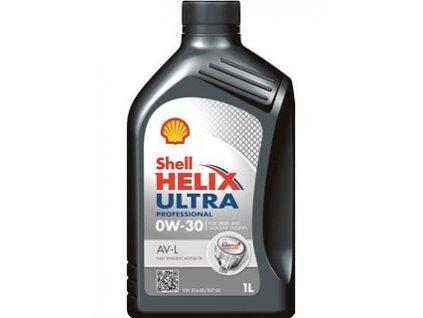 3044 shell helix ultra professional av l 0w 30 1l