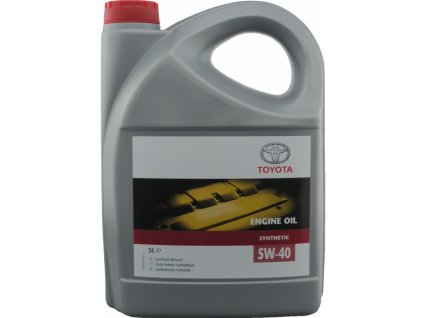 3905 toyota engine oil 5w 40 5l