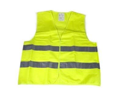 Reflexná vesta zelená