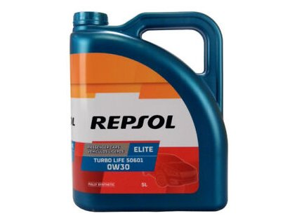 REPSOL 0W 30 ELITE TURBO LIFE 506,01 5L
