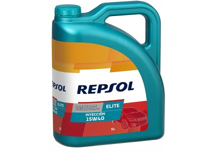 REPSOL 15W 40 ELITE INYECCION 5L