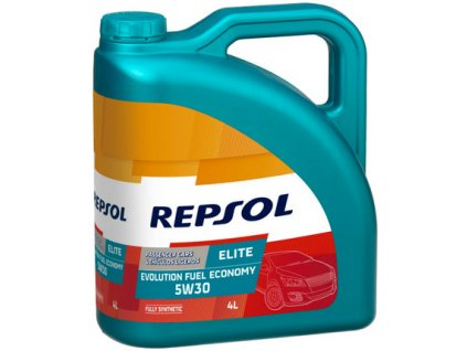 REPSOL 5W 30 ELITE EVOLUTION F ECONOMY 4L