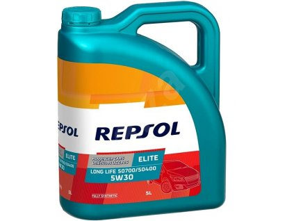 REPSOL 5W 30 ELITE EVOLUTION LL 5L