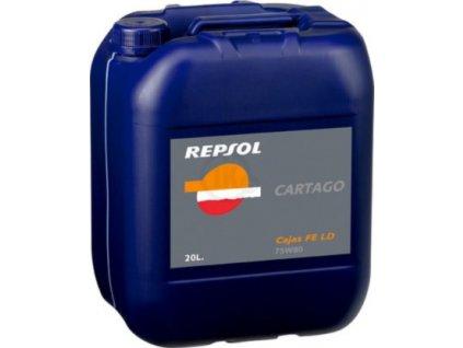 REPSOL 75W 80 CARTAGO CAJAS FE LD 20L