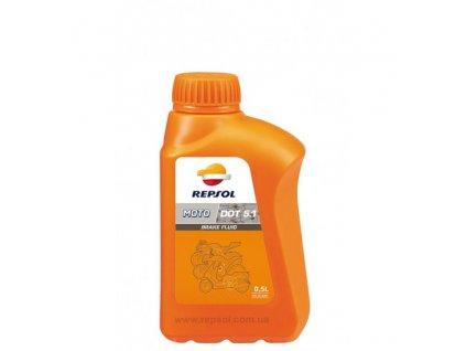 REPSOL MOTO DOT 51 BRAKE FLUID 1l brzdova kvapalina