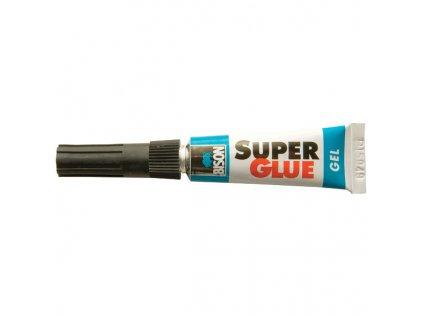 BISON Super Glue Gel - sekundové lepidlo 3g