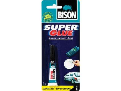 BISON Super Glue Liquid - sekundové lepidlo