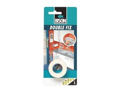 BISON Double Fix - obojstranná páska, biela