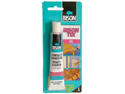 BISON Tix Gel - kontaktné lepidlo 50ml