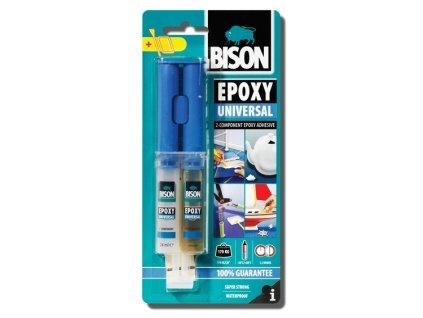 BISON Epoxy Universal - epoxidové lepidlo 24ml