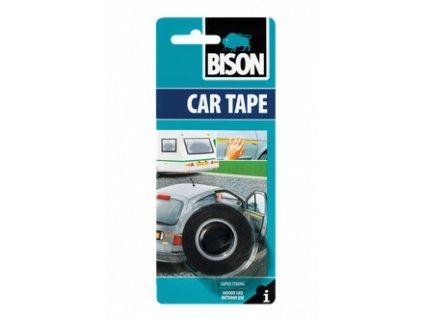 BISON Car Tape - obojstranná páska / čierna 1,5m