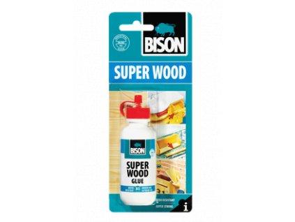 BISON Super Wood Glue - lepidlo na drevo/exteriér 75g